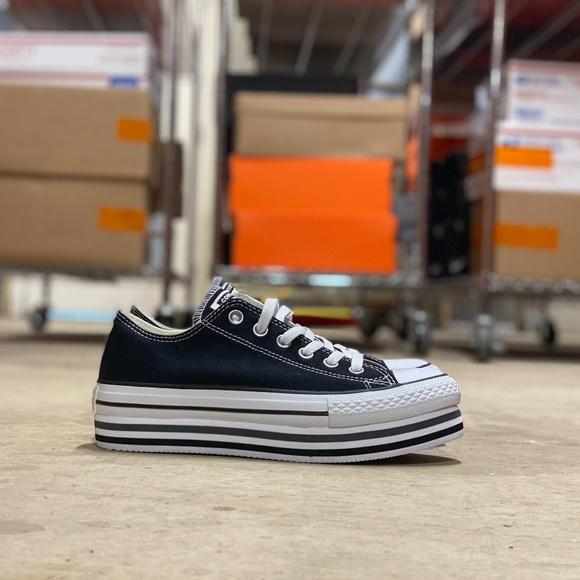 Converse Shoes | New Converse Ctas Platform Layer Ox Casual Sz 7 ...
